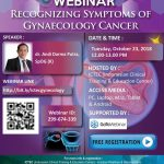 Webinar Recognizing Symptoms of Gynecology Cancer